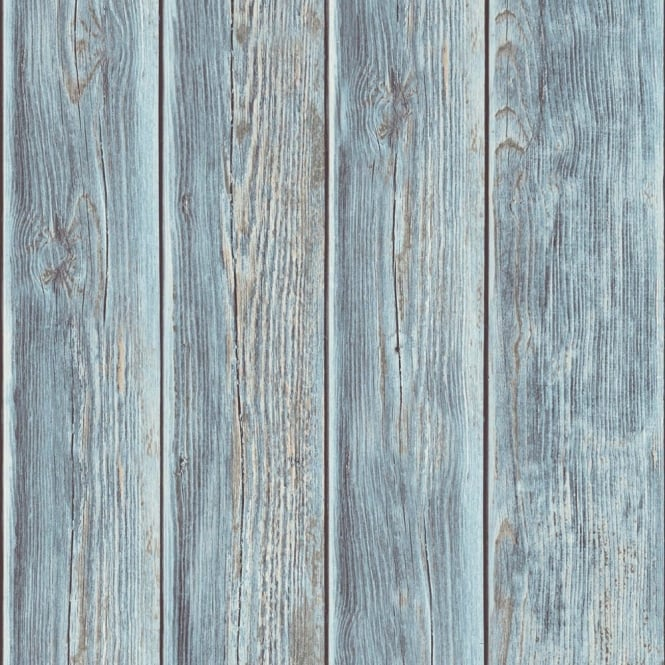 Muriva Wood Panel Faux Effect Wooden Beam Realistic Mural Wallpaper J86801
