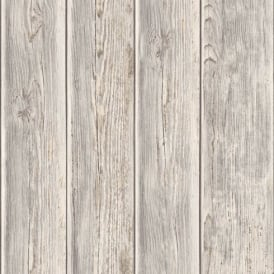 Muriva Wood Panel Faux Effect Wooden Beam Realistic Mural Wallpaper J86808