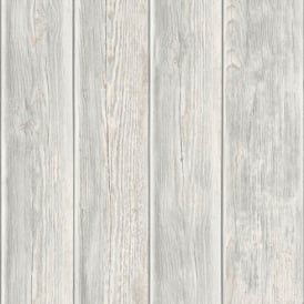 Muriva Wood Panel Faux Effect Wooden Beam Realistic Mural Wallpaper J86817