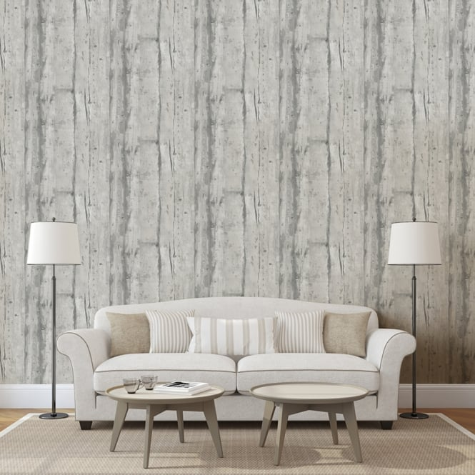 Muriva Wooden Board Pattern Wallpaper Faux Effect Wood Panel Modern Realistic L10909