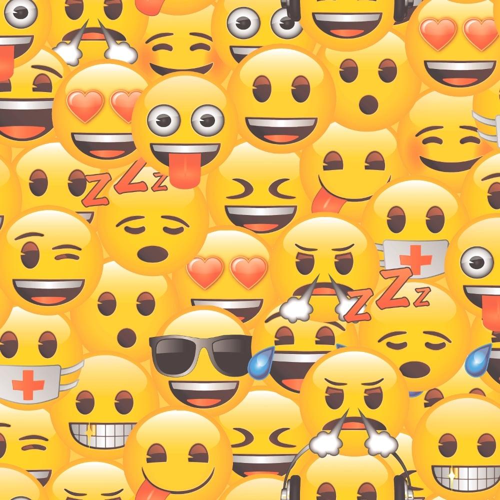 official emoji childrens wallpaper smiley cartoon kids wp4 emo jo1 12. Black Bedroom Furniture Sets. Home Design Ideas