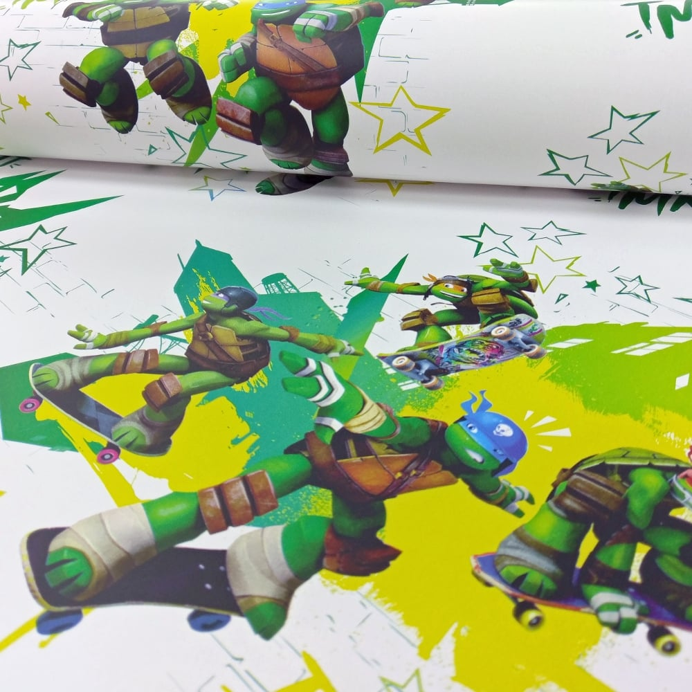 Official Teenage Mutant Ninja Turtles Wallpaper Tmnt Childrens Cartoon Wp4 Tmn Tur 12
