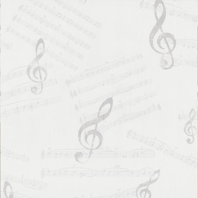 P&S International P+S Dieter Bohlen Musical Notes Music Textured Wallpaper 13154-10
