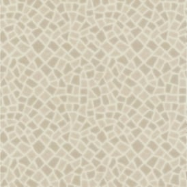 P+S Home Sweet Home Mosaic Tile Effect Embossed Vinyl Wallpaper 45026-10