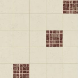 P+S Home Sweet Home Square Tile Effect Kitchen Bathroom Wallpaper 45033-10