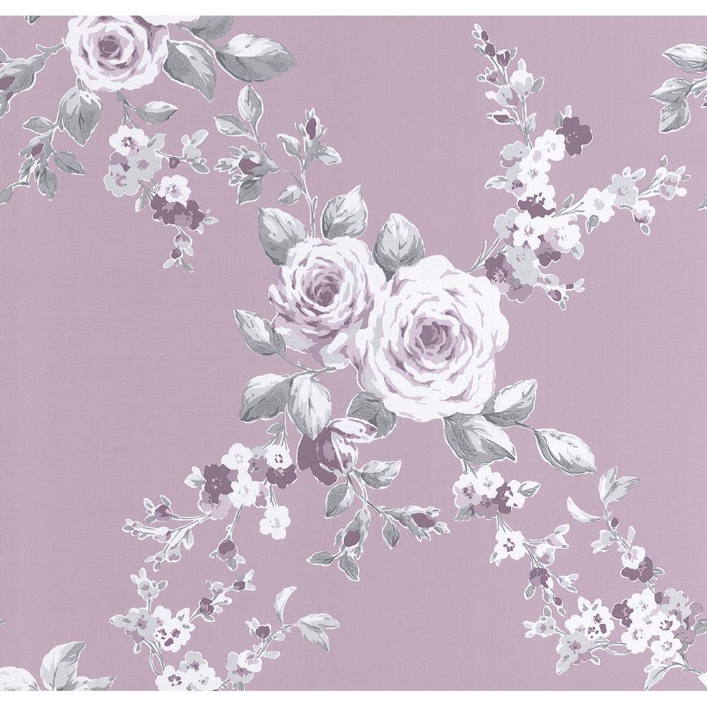 Ps International Canterbury Floral Flower Pattern Wallpaper 05653 40