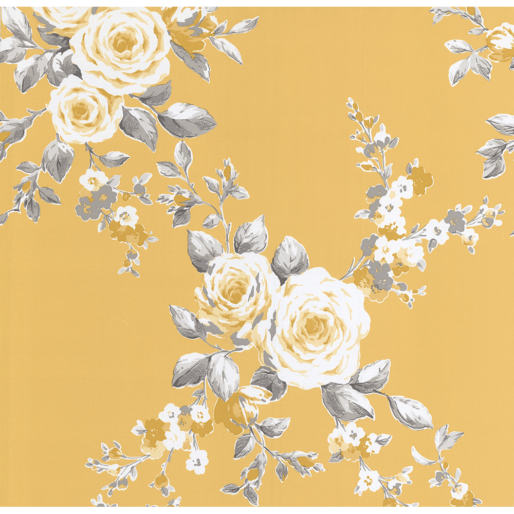 Ps International Canterbury Floral Flower Pattern Wallpaper 05653 50
