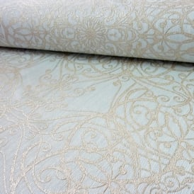P&S International GMK Damask Swirl Pattern Wallpaper Glitter Motif Textured 02465-40