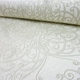 P&S International GMK Damask Swirl Pattern Wallpaper Glitter Motif Textured 02465-50