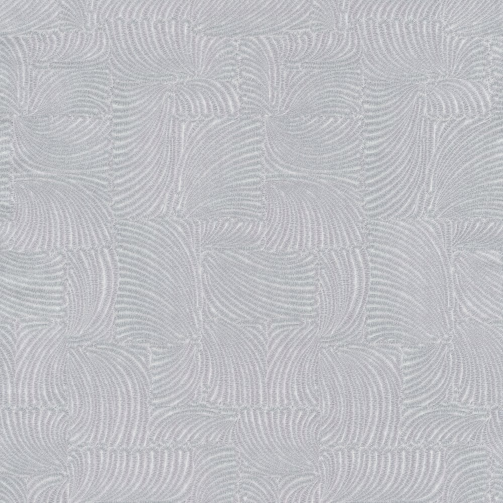 PampS International GMK Feather Pattern Wallpaper Leaf Square Metallic Motif