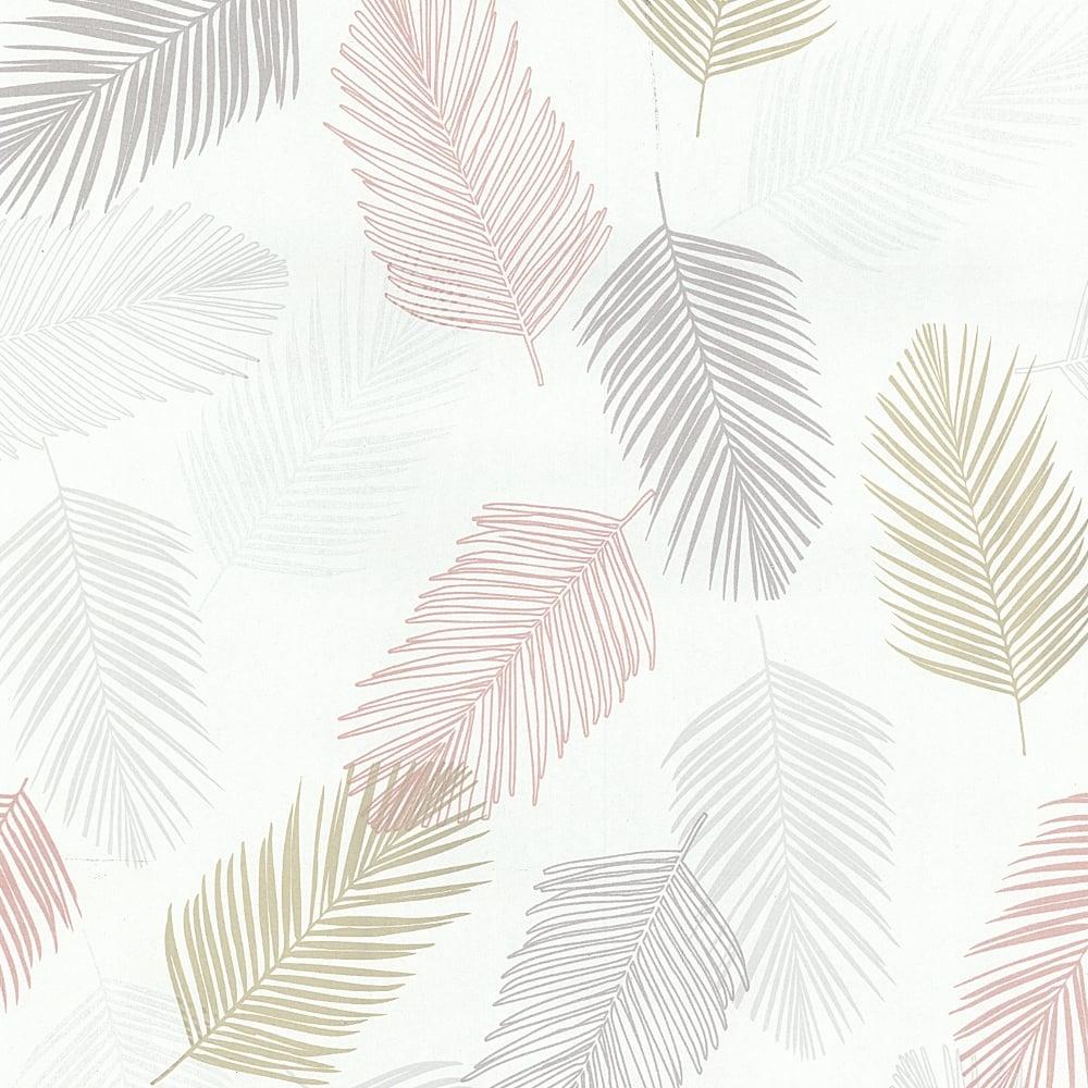 Good Pu0026amp;S International Leaf Pattern Wallpaper Embossed Leaves Motif Non  Woven ...