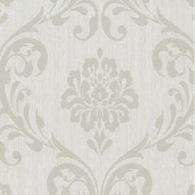 P+S International Ornament Damask Embossed Textured Wallpaper 13110-20