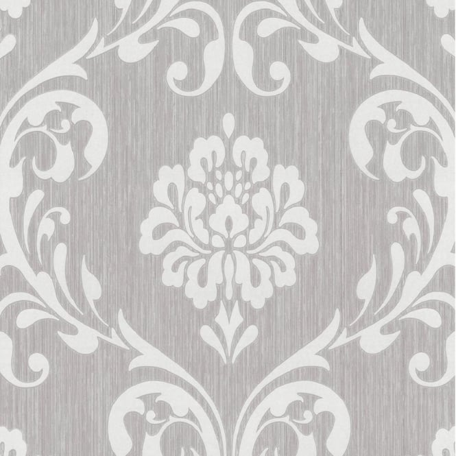 P&S International P+S International Ornament Damask Embossed Textured Wallpaper 13110-30
