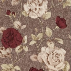 P+S Antique Floral Vintage Look Textured Flower Trail Wallpaper Roll 02297-10