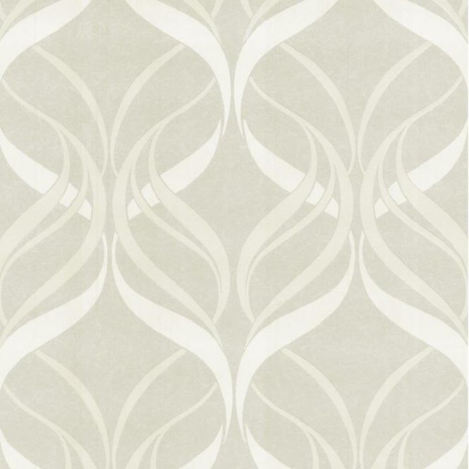 P&S International P+S Decor Deluxe Orpheo Swirl Metallic Textured Wallpaper 13086-10