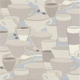 P+S Home Sweet Home Coffee Cups Saucers Tea Cafe Kitchen Wallpaper 45028-20