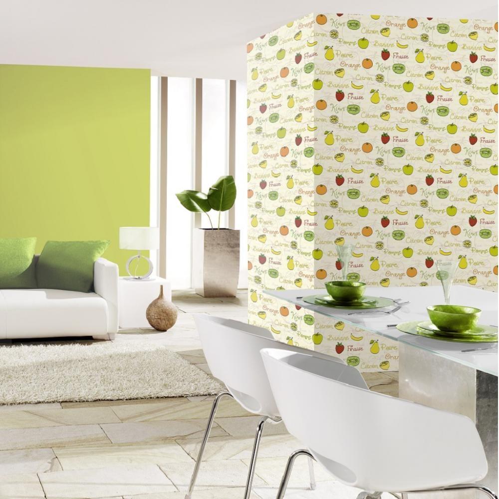 PS Home Sweet Home Fruit Food Motif Letter Kitchen Wallpaper 4503510