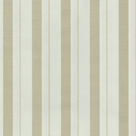 P&S Magic Circles Striped Pattern Designer Metallic Textured Wallpaper 02421-20