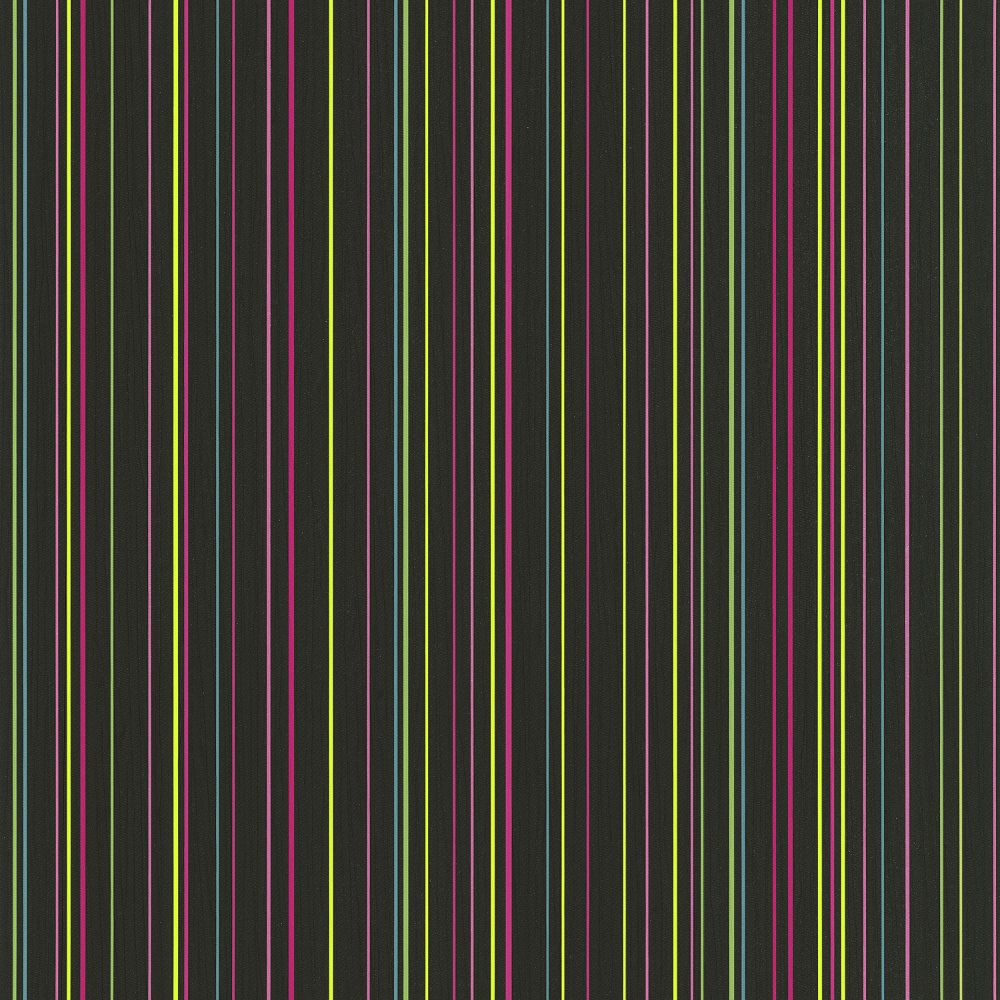 PampS Pin Stripe Pattern Striped Textured Rainbow Colour Washable Wallpaper