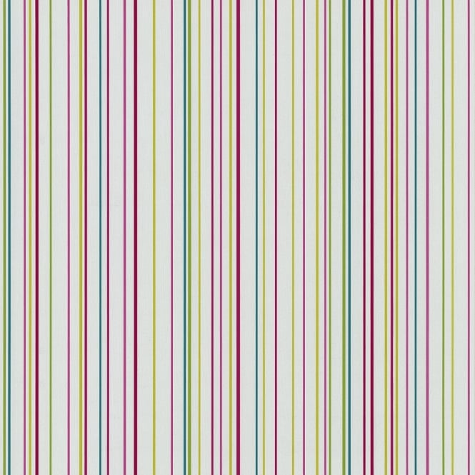P&S International P&S Pin Stripe Pattern Striped Textured Rainbow Colour Washable Wallpaper 05564-20