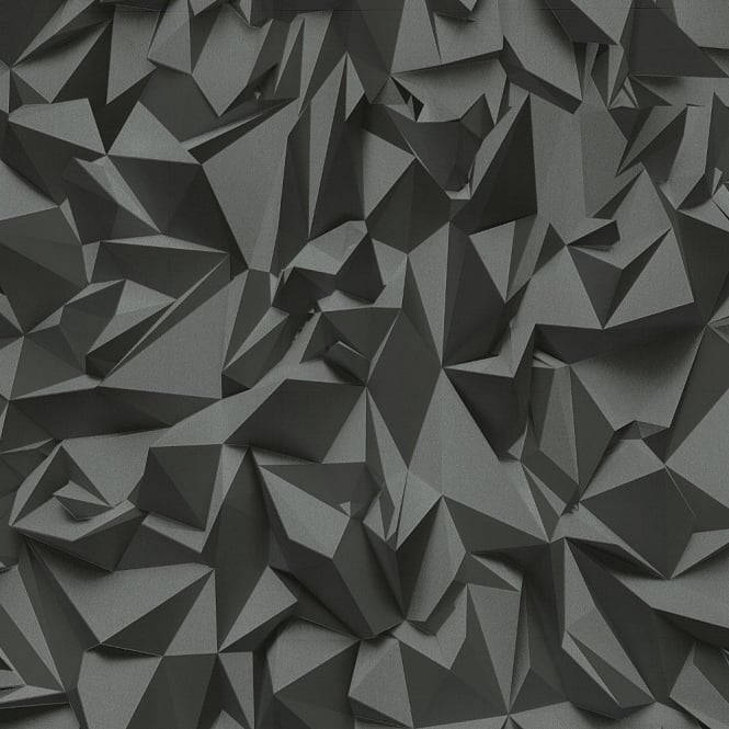 P&S International P&S Times 3D Effect Triangle Pattern Geometric Non Woven Textured Wallpaper 42097-50