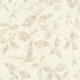P+S Tresor Patterned Leaf Trail Embossed Textured Wallpaper 02290-30
