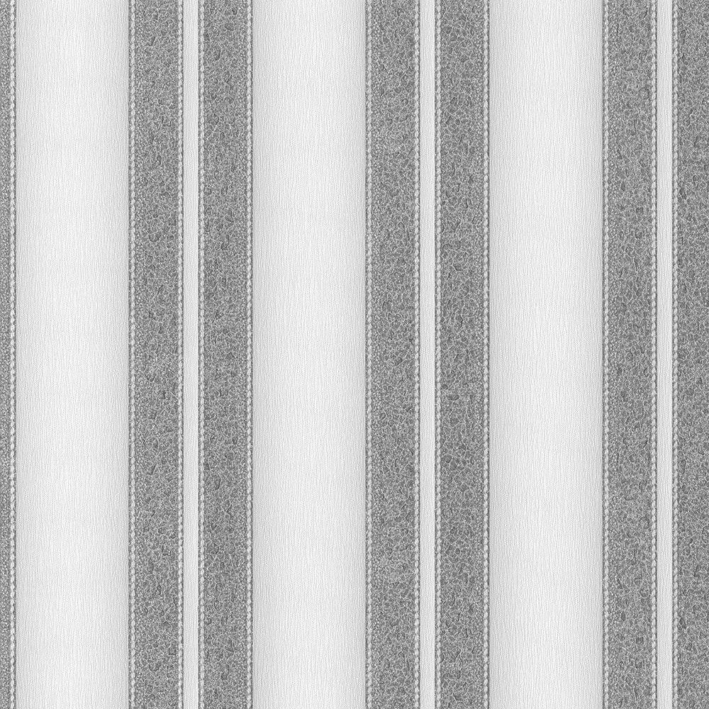 Spotlight Range Striped Pattern Glitter Effect Non-Woven Wallpaper 02544-40