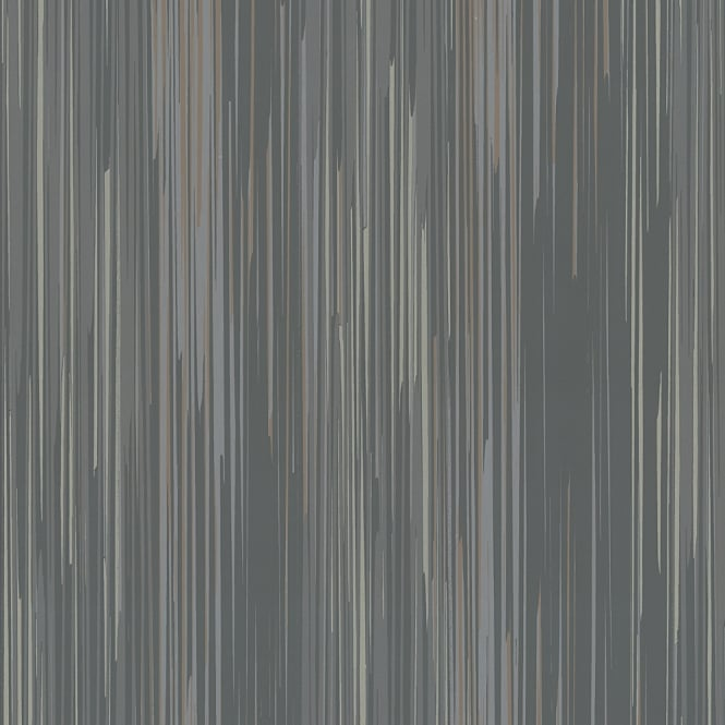 PampS International Striped Pattern Wallpaper Embossed Stripe Modern Metallic