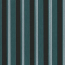 P&S Magic Circles Striped Pattern Designer Metallic Textured Wallpaper 02421-60