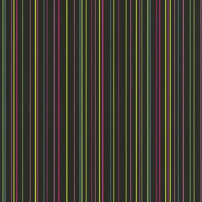 P&S International P&S Pin Stripe Pattern Striped Textured Rainbow Colour Washable Wallpaper 05564-10