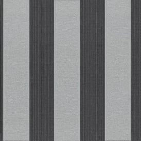 P&S Striped Pattern Glitter Motif Stripe Textured Washable Vinyl Wallpaper 18133-80