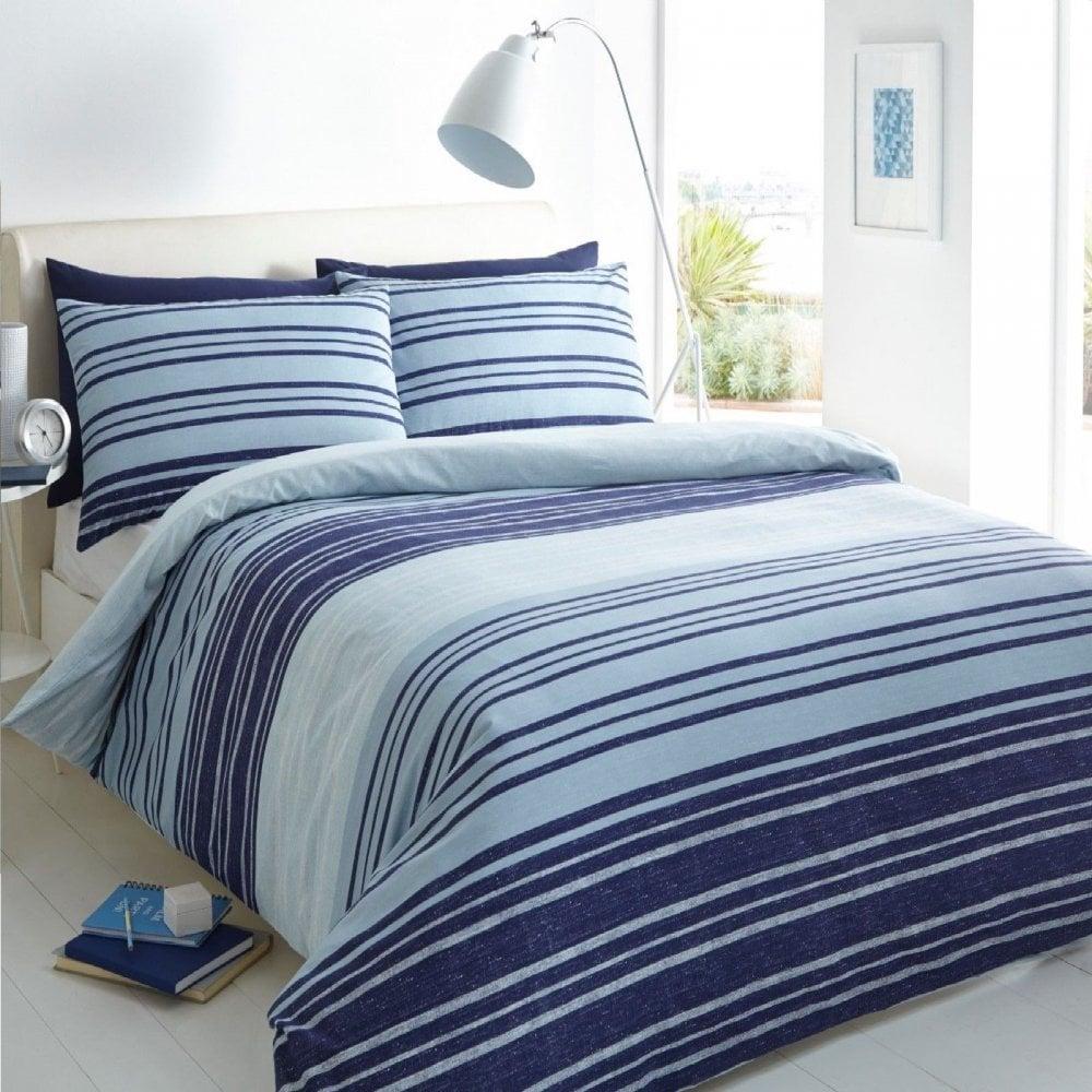 Lovely Polka Dots /& Stripes Duvet Cover Bedding Set Pillowcases Cream//Red//Grey