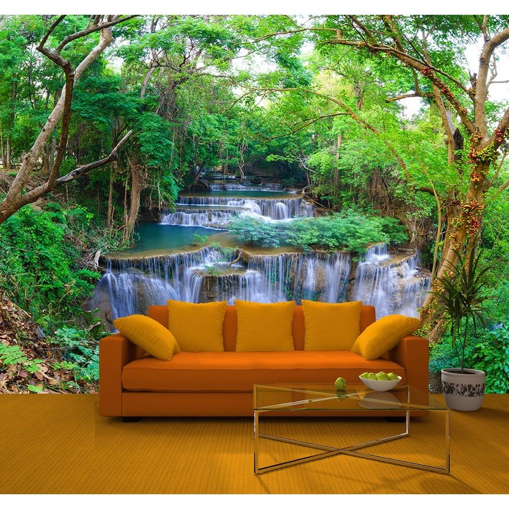 Rainbow Jungle Waterfall