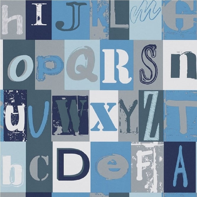 Rasch Alphabet Children's Wallpaper 231113