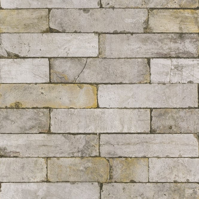 Rasch Authentic Stone Wall Realistic Faux Effect Embossed