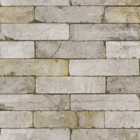 Rasch Authentic Stone Wall Realistic Faux Effect Embossed Textured Wallpaper 203608