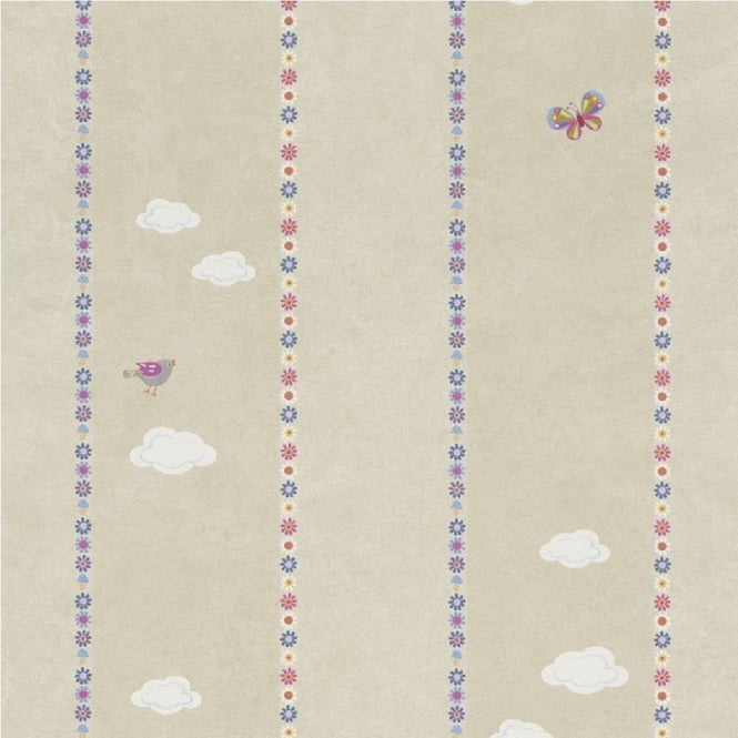Rasch Bambino Clouds Wallpaper 287509