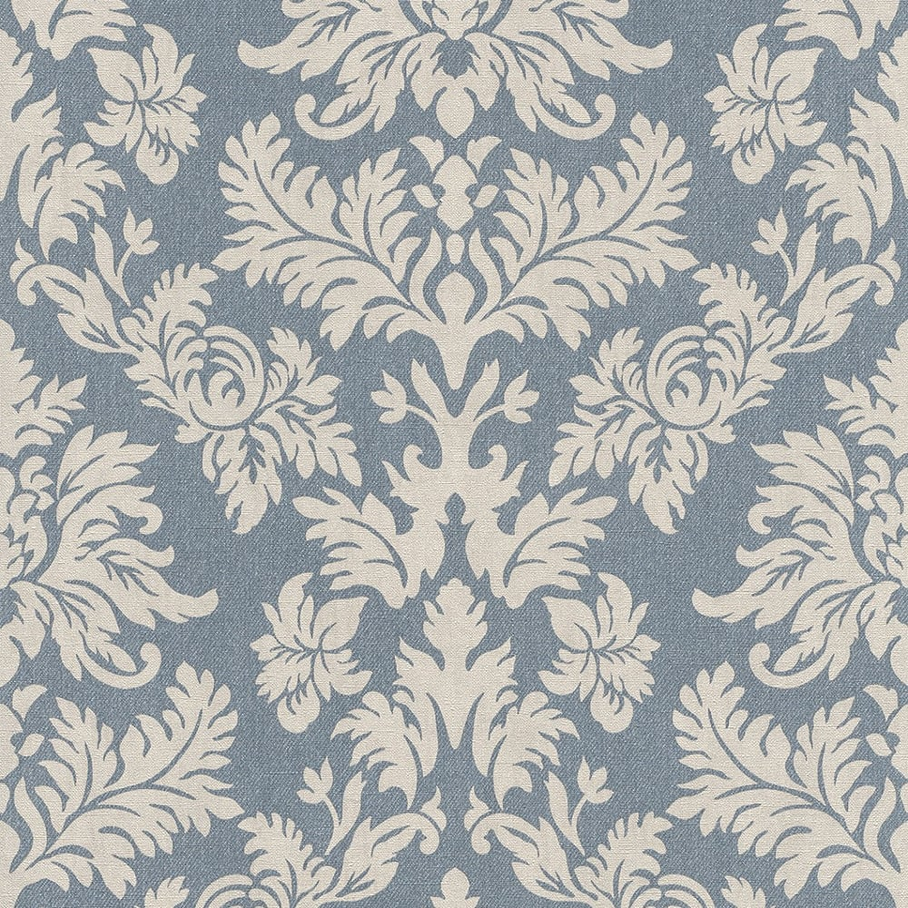 Rasch Barbara Becker Damask Pattern Wallpaper Baroque