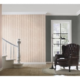 Rasch Barbara Becker Wood Beam Panel Pattern Wallpaper Faux Effect Embossed 479645