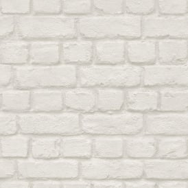 Rasch Brick Stone Wall Realistic Faux Effect Textured Photographic Wallpaper 226706