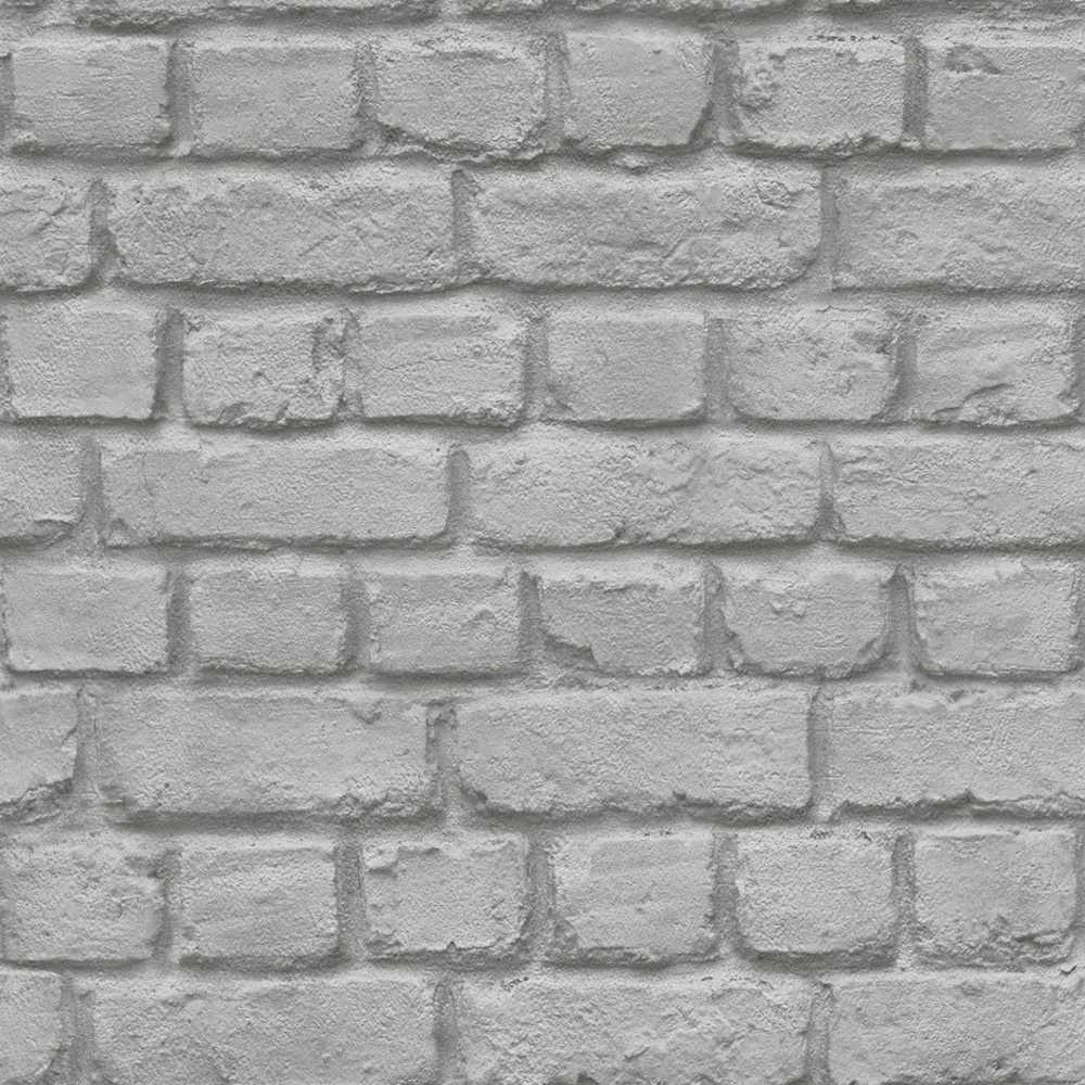 Rasch Brick Stone Wall Realistic Faux Effect Textured Photographic Wallpaper 226720