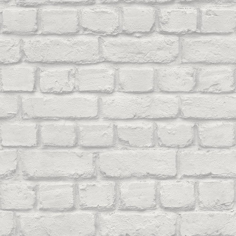 Rasch Urban Pink Brick Effect Embossed Texture Modern Wallpaper