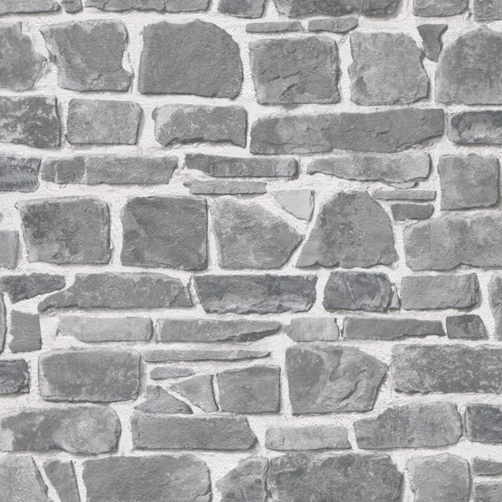 Vinyl for brick wall - Rasch Brick Wall Pattern Faux Effect Realistic Mural Textured Vinyl Wallpaper 265620