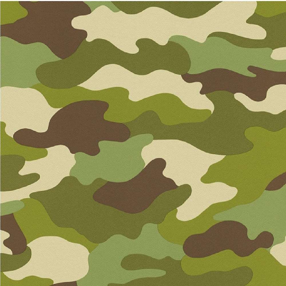 Rasch Kids Club Camouflage Army Green Children S Wallpaper