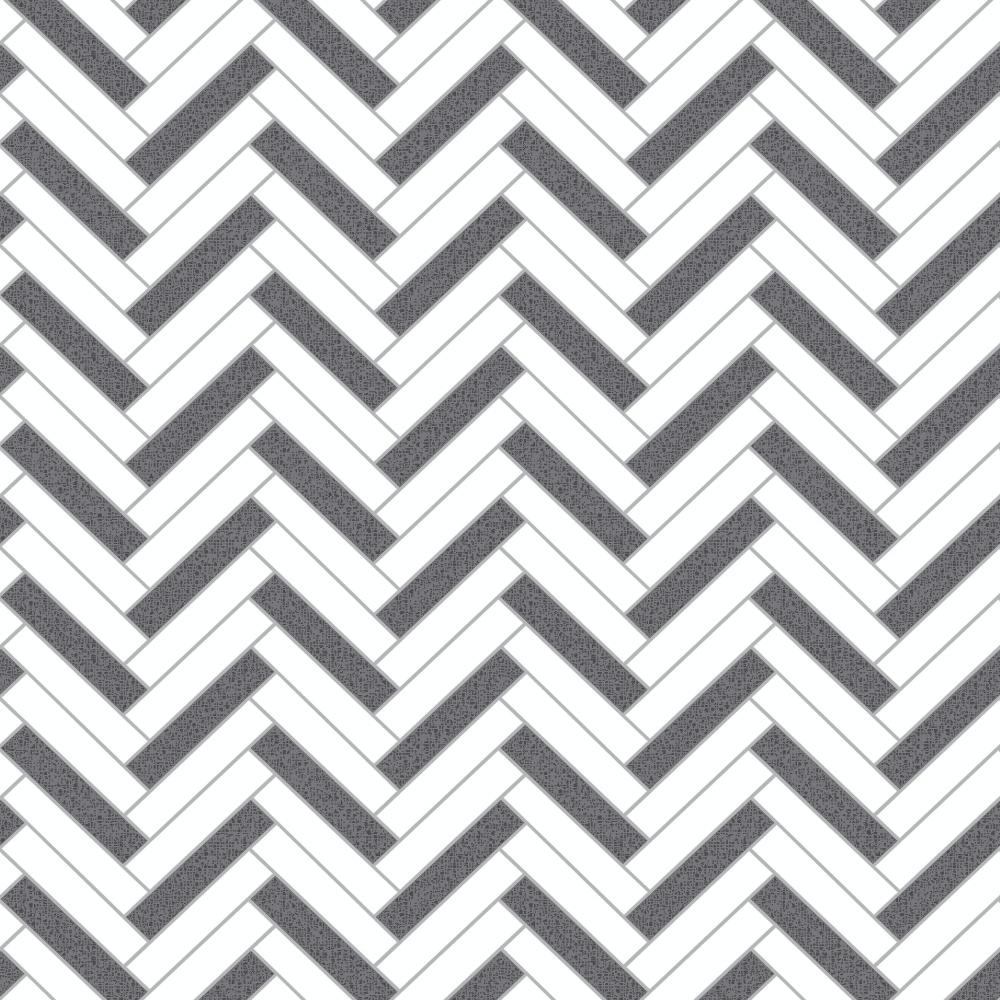 Rasch Chevron Stripe Pattern Glitter Motif Kitchen Bathroom Vinyl Wallpaper 888225