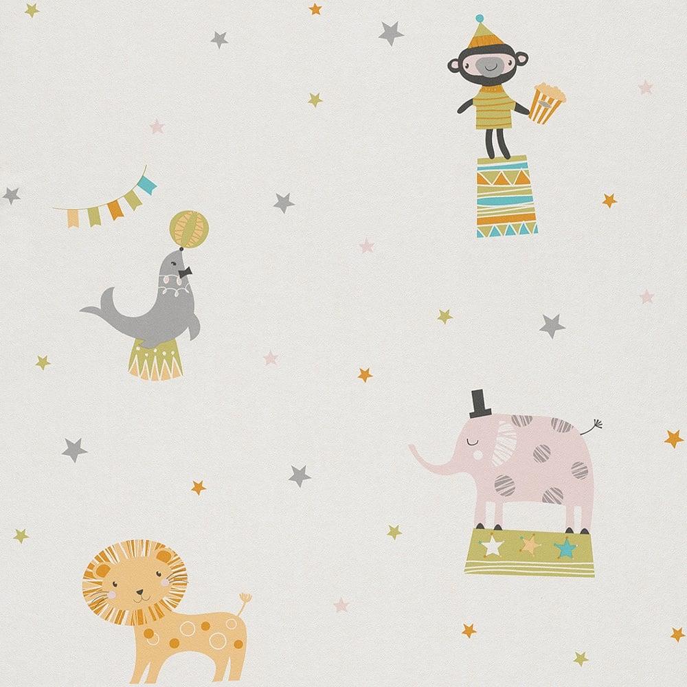 Most Inspiring Wallpaper Cartoon Elephant - rasch-circus-pattern-childrens-wallpaper-lion-elephant-monkey-cartoon-star-245011-p5013-13761_image  Pictures_743418  .jpg