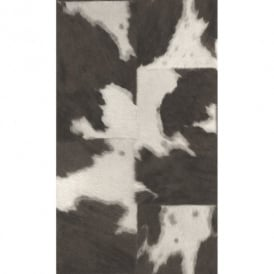 Rasch Cow Skin Pattern Faux Effect Animal Fur Print Textured Wallpaper 473919