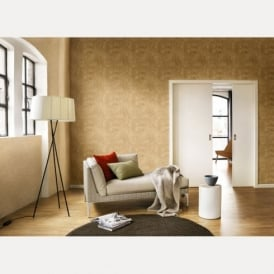 Rasch Factory Tile Pattern Cork Faux Effect Realistic Mural Vinyl Wallpaper 445770