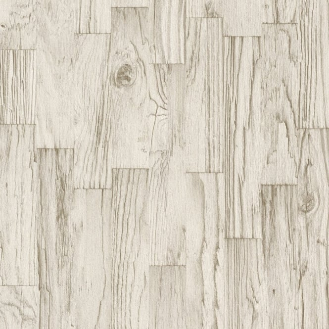 Rasch Factory Wood Panel Pattern Faux Effect Textured Mural Wallpaper 446623