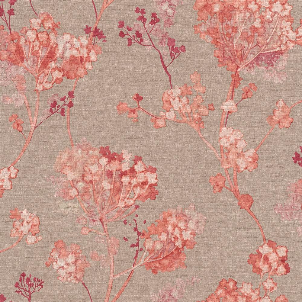rasch florentine floral motif flower pattern traditional. Black Bedroom Furniture Sets. Home Design Ideas
